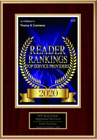 MN Real Estate Appraisal Services Wins Readers Tops Service Award